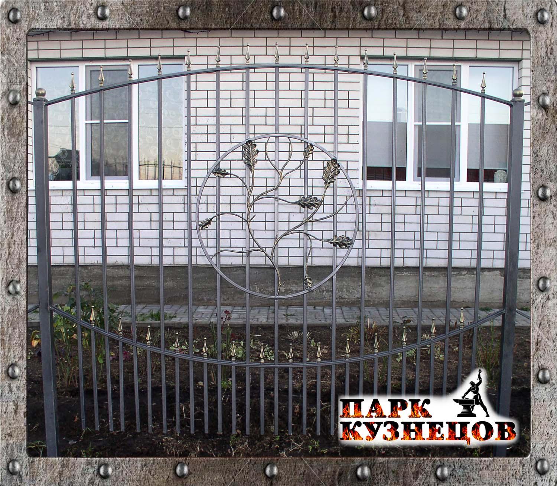 кованый забор купить