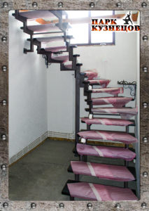 Лестница Л-01 арт.2020-34