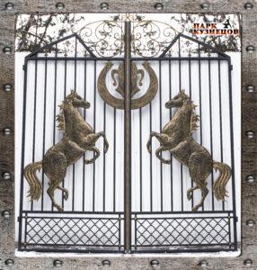 Ворота арт.2020-124