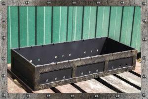 Ящик для мангала декор.
