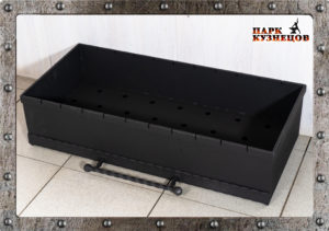 Ящик для мангала с поддоном