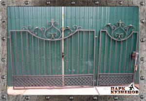 Калитка с забором арт. 2019-105