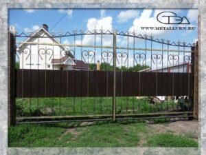 Ворота, размер 5х2 м (2013 год)