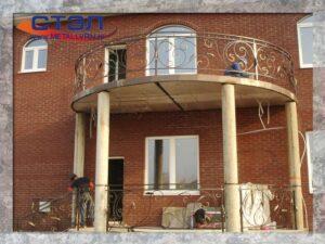 Балконное ограждение (2014 год)