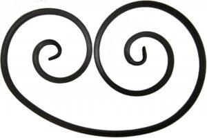 Волюта  несимметричная   арт. В-425