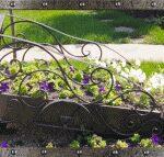 Ландшафтные цветочницы, опоры