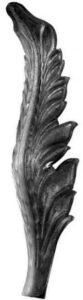 Лист кованный арт. 19-1162