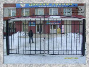 Ворота. Размер 2х4 м (2011 год)
