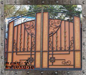 Ворота  «ЯРИЛО», размер 3,5х2,5м