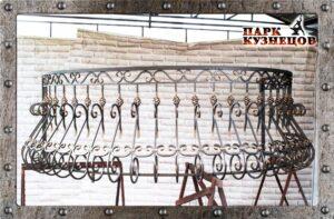 Перила с балконами Б-55 арт.2019-18