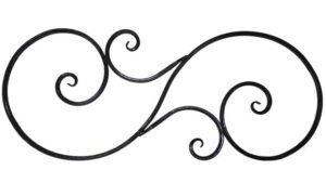 Декоративная панель «S»  арт. Д-08(15)