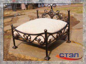 Кованая кроватка
