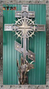 Крест с рамкой для мрамора (2017год)