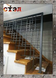 Ограждение лестницы (2017г)