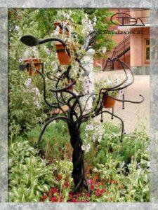 Дерево кованое