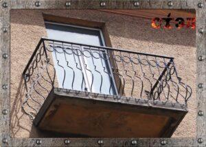 Балконное  ограждение (2016год)