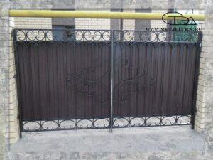 Ворота размер 3х1,8 м (2013 год)