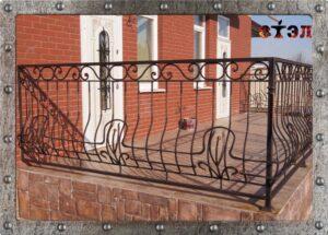 Ограждение балкона, террасы (2016год)