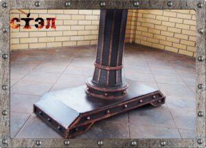 Стол кованый 1,5х6м (2016г.)